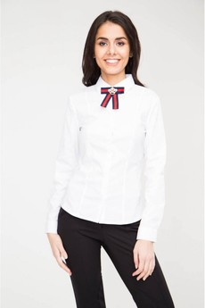 Блуза с брошью Marimay