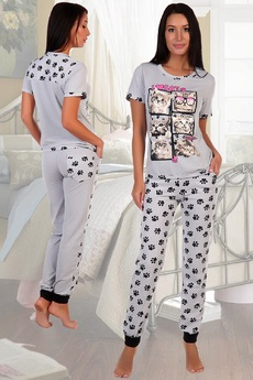 Костюм: футболка и брюки Натали