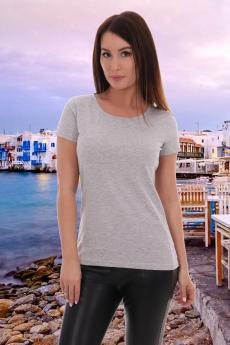Базовая серая футболка Натали